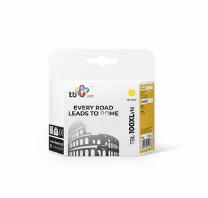 TB Print Tusz do Lexmark Pro205  Yellow 100%nowy TBL-100XLYN
