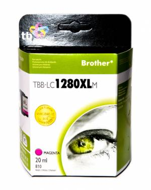 TB Print Tusz do Brother LC1280XL Purpurowy TBB-LC1280XLM