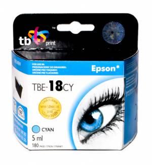 TB Print Tusz do Epson XP 302 Błękitny TBE-18CY