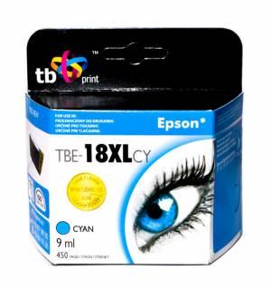 TB Print Tusz do Epson XP 302 Błękitny TBE-18XLCY