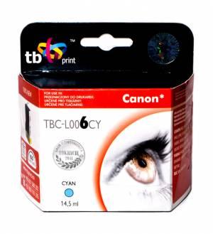 TB Print Tusz TBC-L006CY (Canon BCI6C) Błękitny 100% nowy