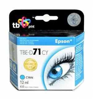 TB Print Tusz TBE-D71CY (Epson T071240) Błękitny 100% nowy