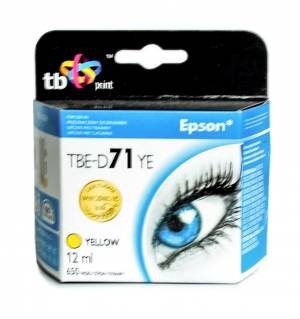 TB Print Tusz TBE-D71YE (Epson T071440) Żółty 100% nowy