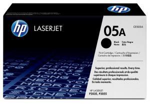 HP Toner LJ P2035/P2055 05A Czarny 2.3k CE505A
