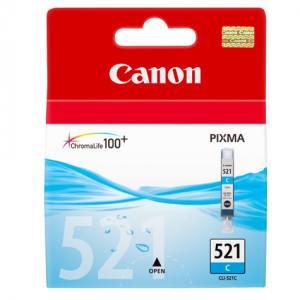 Canon Tusz CLI521 BŁĘKITNY CLI-521C