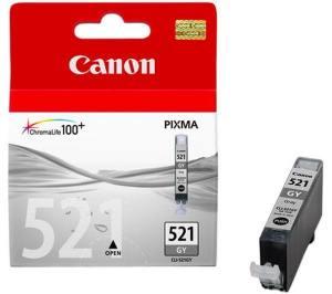 Canon Tusz CLI521 SZARY CLI-521GY