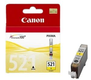 Canon Tusz CLI521 ŻÓŁTY CLI-521Y