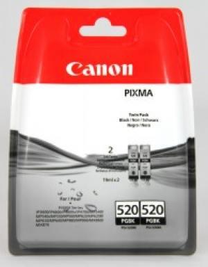 Canon Tusz PGI520 Czarny Dwupak 2932B012