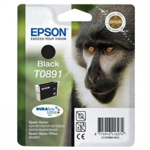 Epson Tusz T0891 Black do Stylus S20/SXx05/
