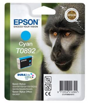 Epson Tusz T0892 Cyan do Stylus S20/SXx05/