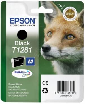 Epson Tusz T1281 Black do SX125/SX130/SX425W/SX430