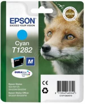 Epson Tusz T1282 Cyan do SX125/SX130/SX425W/SX430