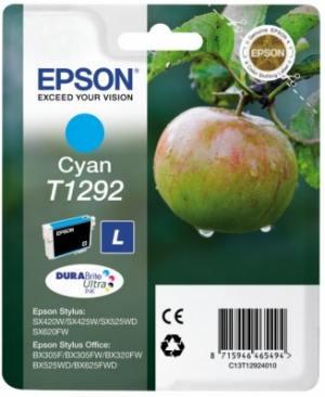 Epson Tusz T1292 Cyan SX425W/SX525WD/BX525WD