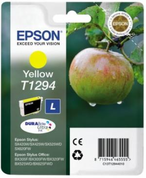 Epson Tusz T1294 Yellow do SX425W/SX525WD/BX525WD