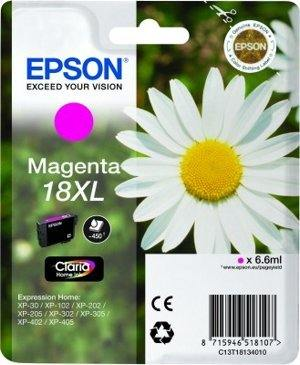Epson Tusz T1813 MAGENTA  6.6ml do XP-30/102/20x/30x/40x