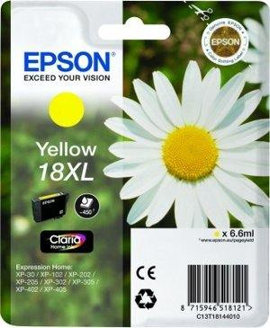 Epson Tusz T1814 YELLOW  6.6ml do XP-30/102/20x/30x/40x