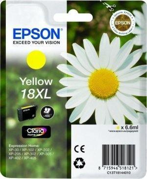 Epson Tusz T1814 YELLOW  6.6ml do XP-30/102/20x/30x/40x