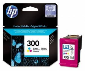 Tusz HP 300 kolor oryginał CC643EE 165 str 4 ml