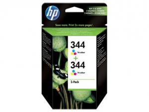 HP Tusz nr 344 Dwupak Kolor C9505EE