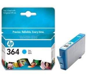 HP Tusz nr 364 Błękitny (Cyjan) CB318EE