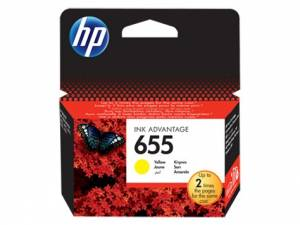 HP Tusz nr 655 Yellow CZ112AE