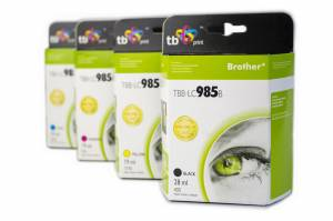 Zestaw do Brother LC 985 TB Print TBB-LC985B