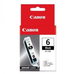 Canon Wkład z tuszem Czarny BCI6