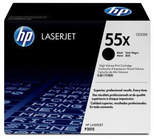 Toner HP 55X P3015 Czarny 12.5k CE255X