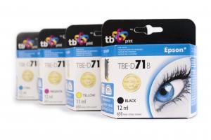 TB Print Zestaw do Epson D71 4 nowe tusze