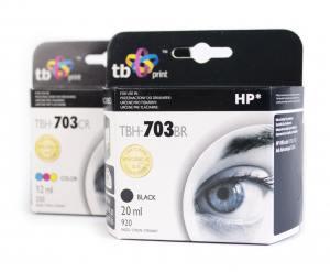 TB Print Zestaw HP 703 DJ D730/F735 czarny+kolor