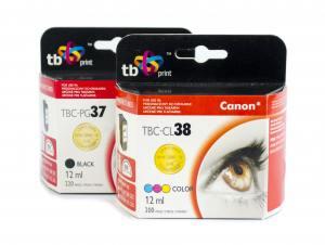 TB Print Zestaw Canon czarny PG37 kolor CL38