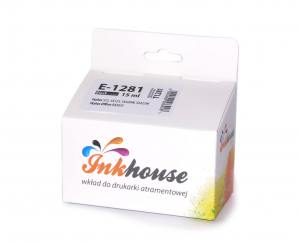 Tusz Inkhouse EPSON T1281 Black S22/SX125 100% nowy