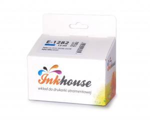 Tusz Inkhouse EPSON T1282 Cyan S22/SX125 100% nowy