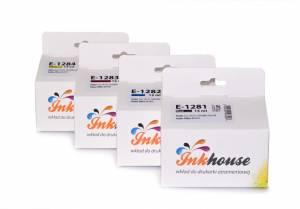 Inkhouse Zestaw do Epson S22/SX125 CMYK 4 tusze