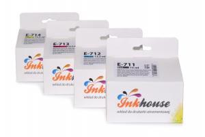 Inkhouse Zestaw do Epson D78/DX4000 CMYK 4 tusze