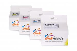 Zestaw Inkhouse do Brother LC1100/LC980 CMYK 4 tusze
