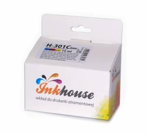 Tusz Inkhouse HP 301XL głowica CH564EE kolorowy