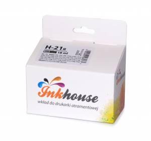 Tusz Inkhouse HP 21 głowica C9351AE czarny