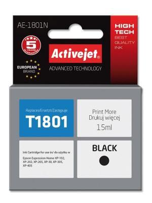 Tusz Activejet AE-1801N (Epson T1801) supreme 15ml czarny
