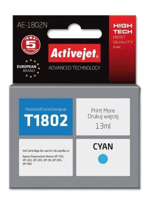 Tusz Activejet AE-1802N (Epson T1802) supreme 13ml cyan