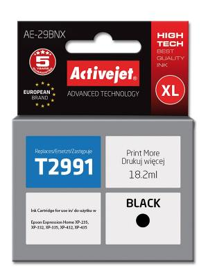 Tusz Activejet AE-29BNX (Epson 29XL T2991) supreme 18.2ml czarny Chip