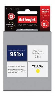 Tusz Activejet AH-951YRX (HP 951XL CN048AE) premium 25ml yellow Chip
