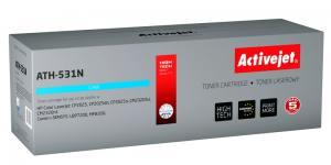 Toner Activejet ATH-531N (HP 304A/ Canon CRG-718C CC531A) supreme 2800str. cyan