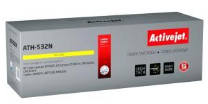 Toner Activejet ATH-532N (HP 304A/ Canon CRG-718Y CC532A) supreme 2800str. yellow