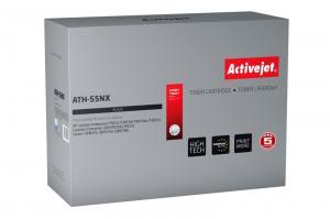 Toner Activejet ATH-55NX (HP 55X/Canon CRG-724H CE255X) supreme 12500str. czarny