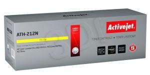 Toner Activejet ATH-212N (HP 131A/Canon CRG-731Y CF212A) supreme 1800str. yellow