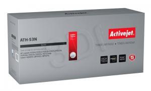 Toner Activejet ATH-53N (zamiennik HP 53A/Canon CRG-715 Q7553A) supreme 3500str. czarny