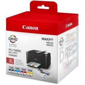 Zestaw Canon PGI-1500XL CMYK MULTI