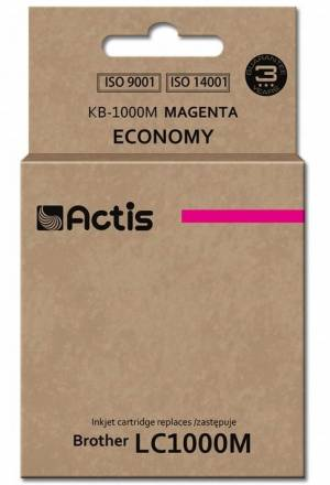 Tusz Actis KB-1000M (Brother  LC1000M/LC970M) standard 36ml magenta