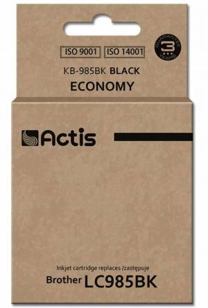Tusz Actis KB-985BK (Brother  LC985BK) standard 28.5ml czarny